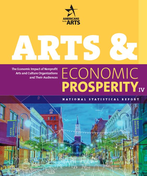 Arts and Economic Prosperity IV Cover