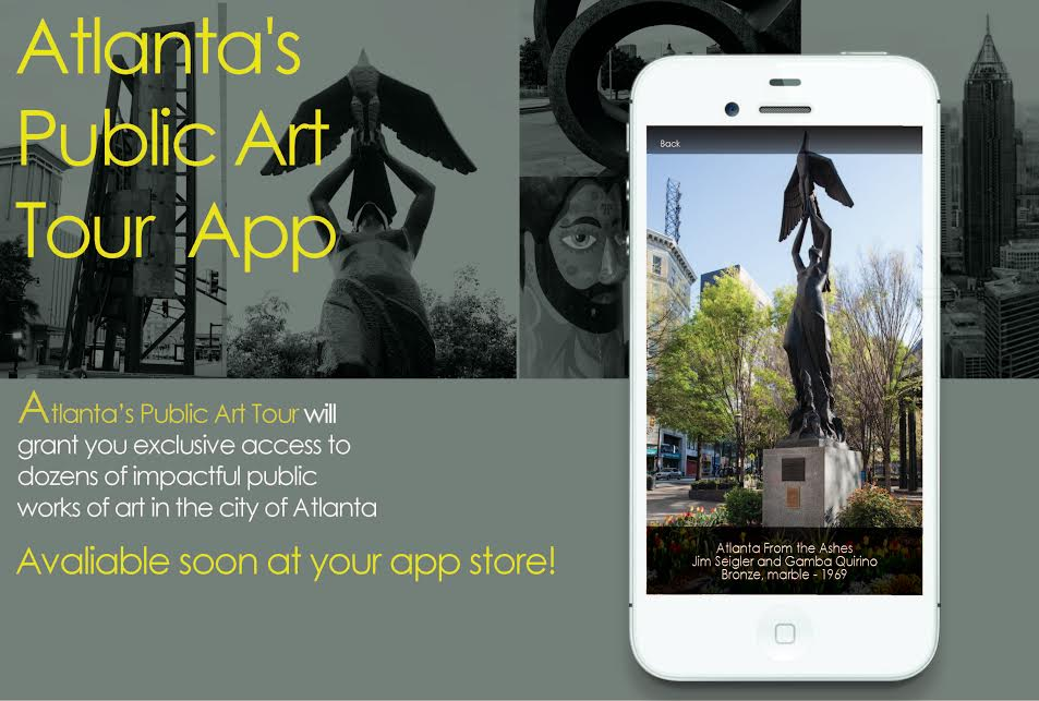public art tour app