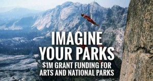 A graphic to accompany a story about National Endowment for the Arts and National Park Service Teaming Up to Offer $1 Million in New Grant Funding Available to Celebrate the Arts and National Parks