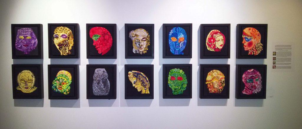 Brikena  Boci Installation Anonime Series