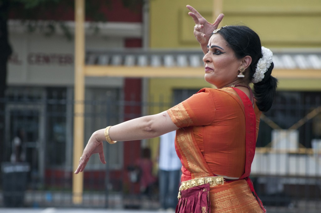 Artistic Director of the Natya Dhaara Performing Arts Center, Uma Palam Pulendran