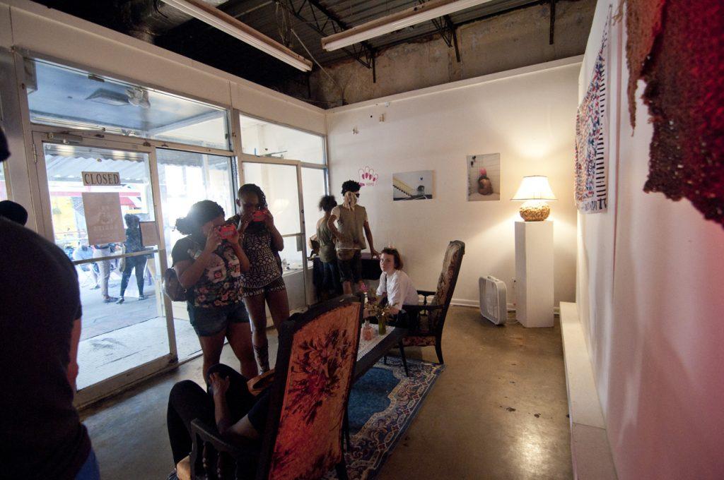 Precarious Bodies exhibition at Murmur