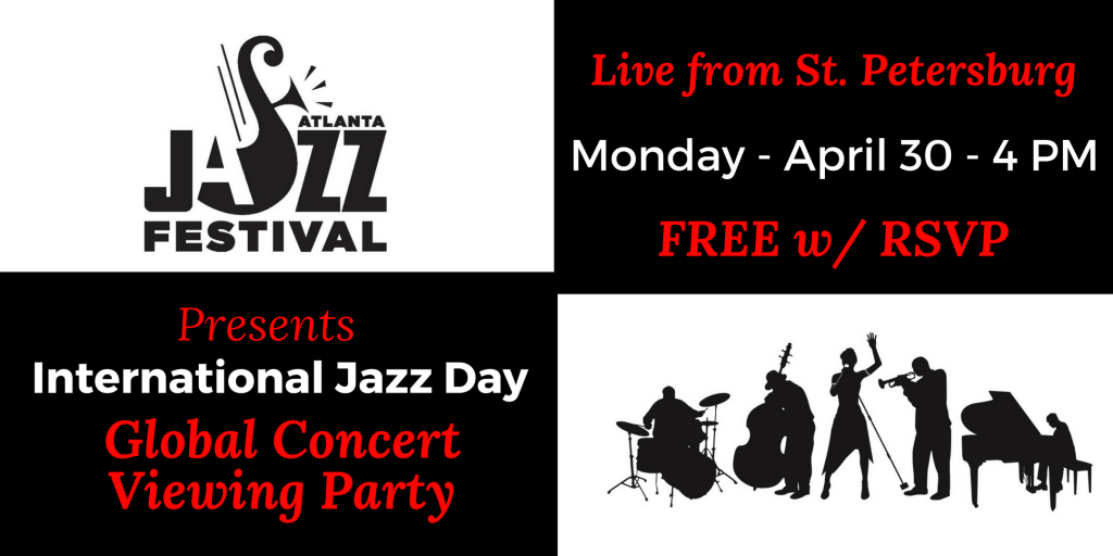 The Atlanta Jazz Festival will host a free viewing party of The 2018 All-Star  Global Concert on Monday 118880b38774