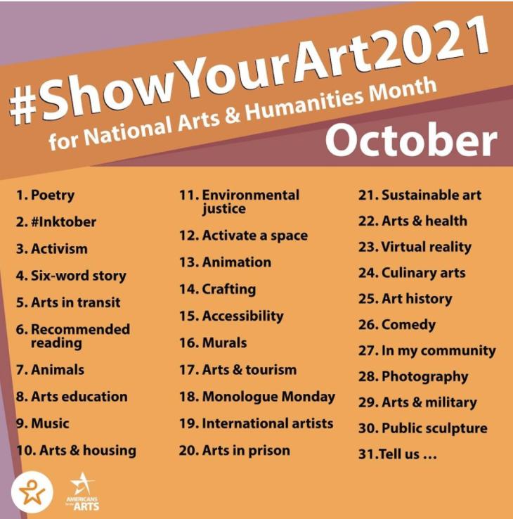 #showyourart2021
